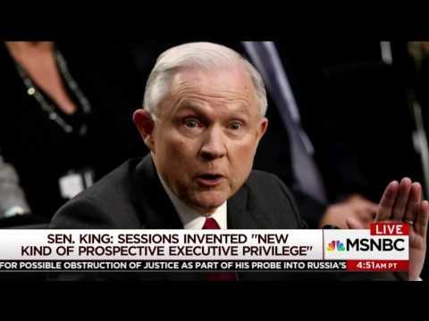 Sen. King Joins MSNBC