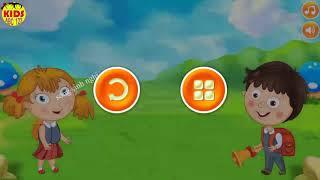 Dạy trẻ tập viết chữ cái Tiếng Việt - Bé học bảng chữ cái a,b,c... - Kids Channel ABC 123