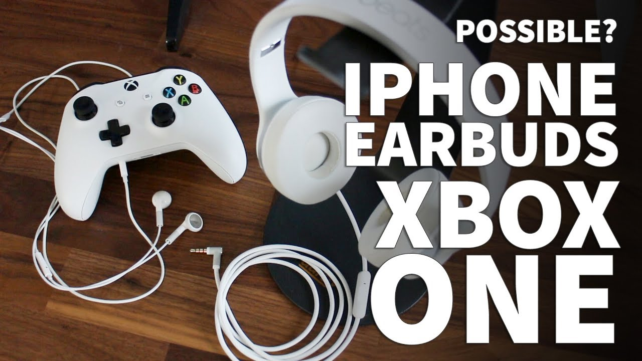 668c86a6028 Apple Earbuds on Xbox One Mic - iPhone Earbuds Don't Work for Xbox One Mic  – Beats on Xbox One - YouTube