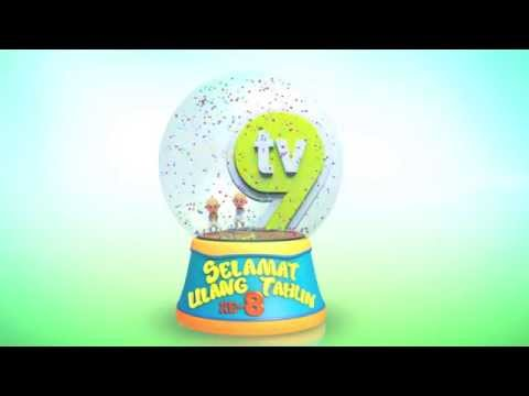 Promo Upin & Ipin - Selamat Ulang Tahun TV9 [HD]