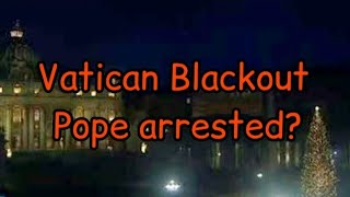 Blackout across Vatican City/Italy & Pakistan| connected to..?