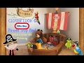 A Look At The Little Tikes Toddler Pirate Ship Bed | Pirate themed room | toddler bed