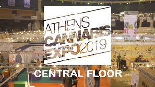Bafman goes Expo by Arcan - Athens Cannabis Expo 2019 Central Floor