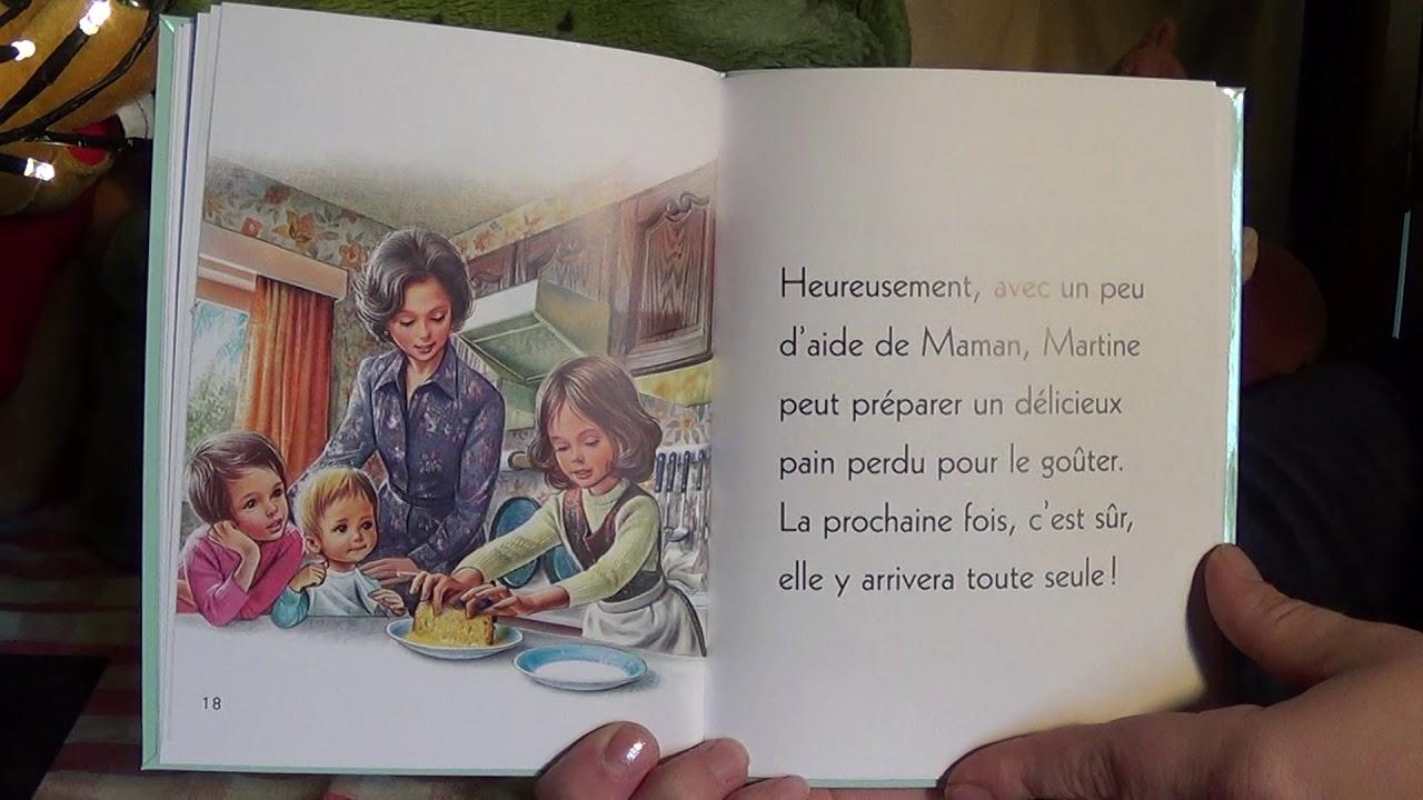 Martine fait la cuisine-Je commence à lire- / Histoire