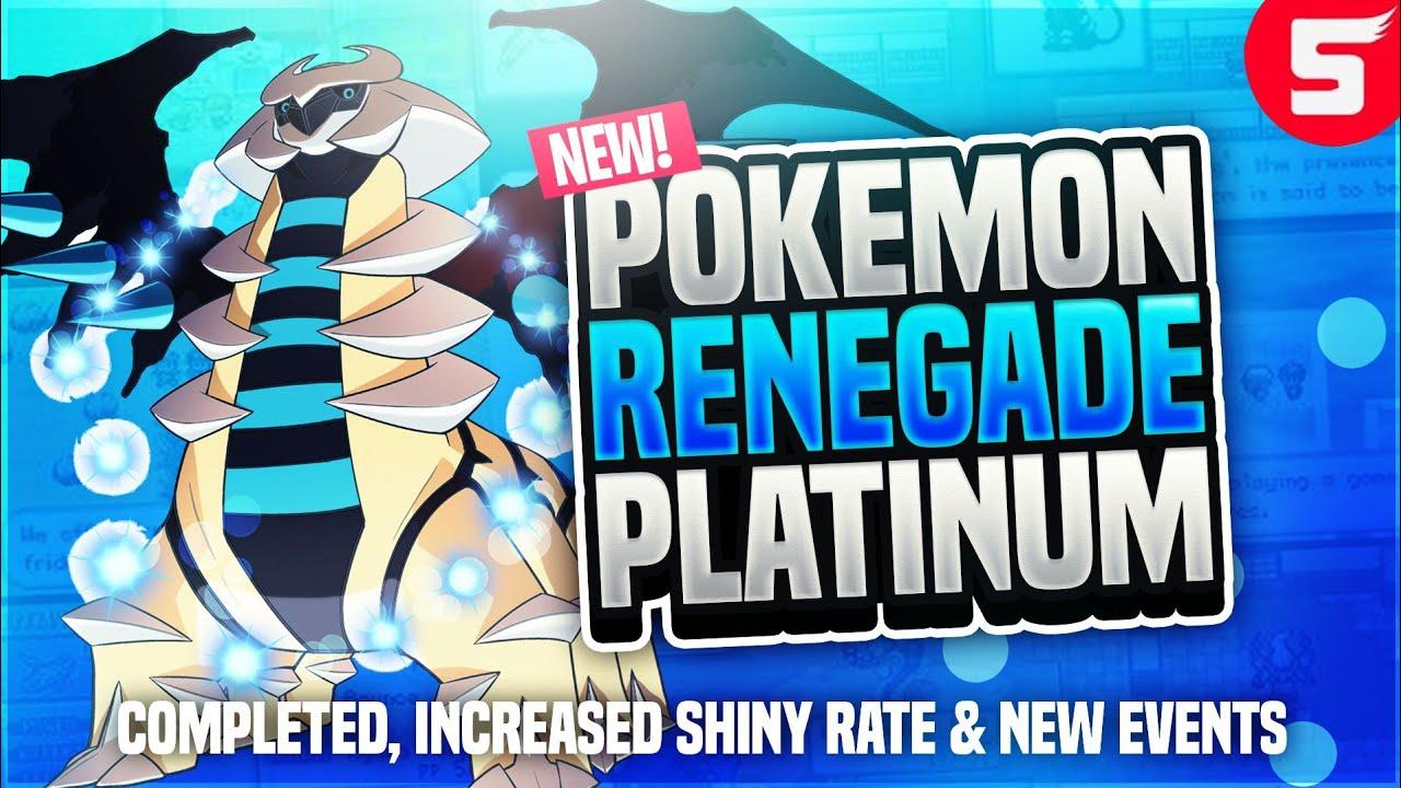 pokemon perfect platinum rom hack download