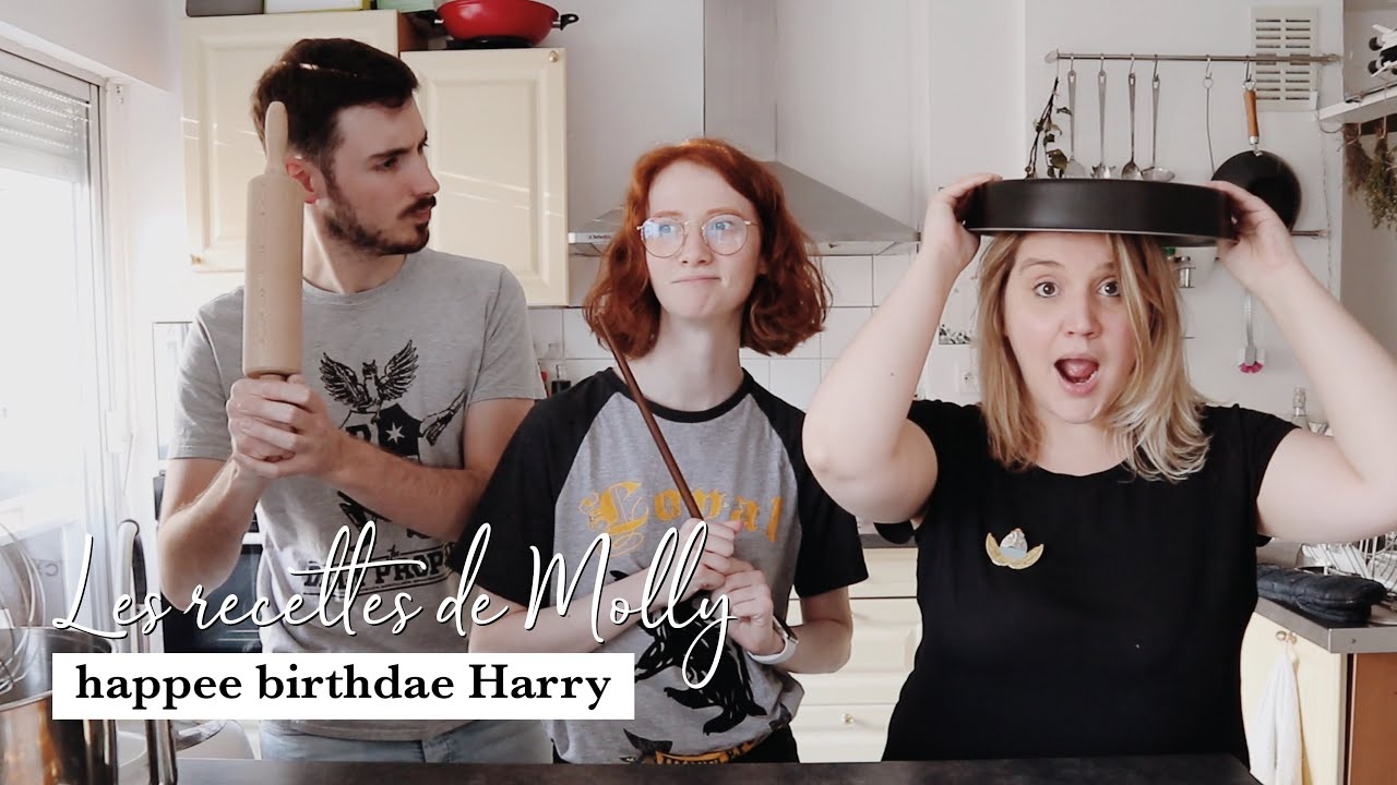 HAPPEE BIRTHDAE HARRY 🥮 | LES RECETTES DE MOLLY avec @themageekalworld