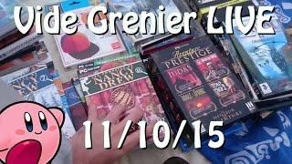 Vide Grenier LIVE - 11 Octobre 2015