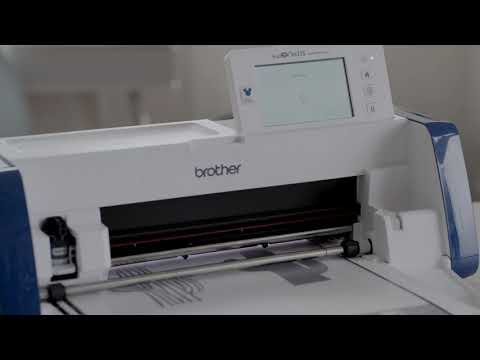 Brother ScanNCut Disney SDX2200D Built in Scanner and Faster and Quieter Cuts