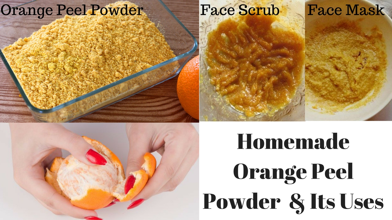 How to make orange face packs, face masks for your beauty care at home