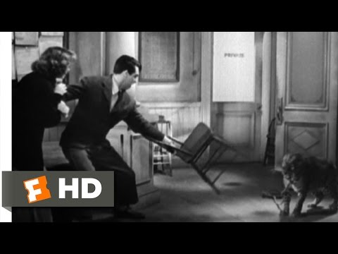 Bringing Up Baby (8/9) Movie CLIP - Two Leopards (1938) HD