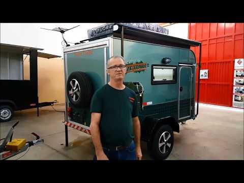 Trailer Camping, Modelo Dinky Ocean, Home Trailer