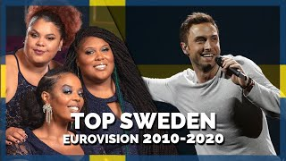 Eurovision SWEDEN (2010-2020) | My Top 11