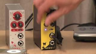 本格アナログ音質のヘッドホンギターアンプ、「 夜中ギター」 / HPA-908...