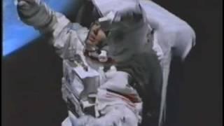 Actress Bobbie Philips In Space Suit.