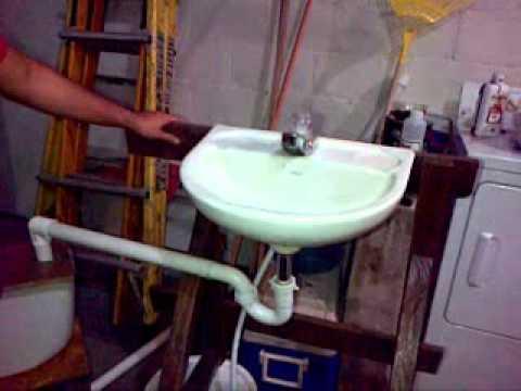 Lavabo Recicla Agua.Reciclaje De Agua