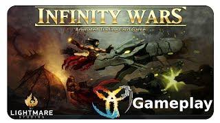 INFINITY Wars - Tradin Card Game -Let´s Play #001 - Gameplay [German Deutsch PC HD]