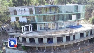 Photos show Hadid's 'illegal' half-built mansion in Bel Air