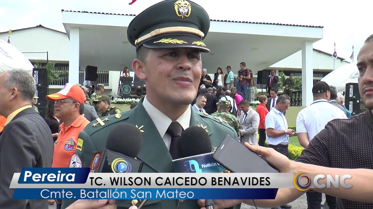 Al Batallón San Mateo llega nuevo comandante, quien trabajará con la  comunidad - YouTube