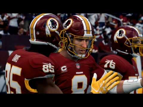 Madden NFL18 All-Madden Simulation - The Redskins Vs The Philadelphia Eagles
