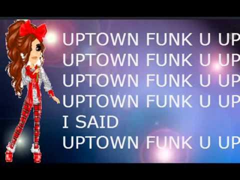 Uptown funk lyrics video msp version youtube