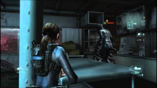 Resident Evil: Revelations - Gameplay - Raid Mode - Режим Рейд - Этап 2/3 - PC [1080p]