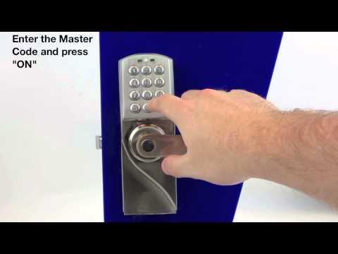 Asec AS3303 Easy Code Change Digital Lock AS3303