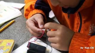 2011-12-08四年級自然實驗-電池的串聯並聯