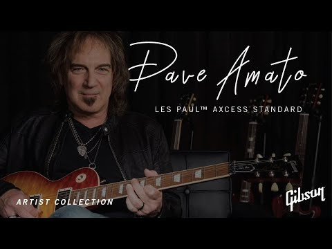 Gibson's Dave Amato signature model combines a '59 Les Paul with Axcess specs | MusicRadar