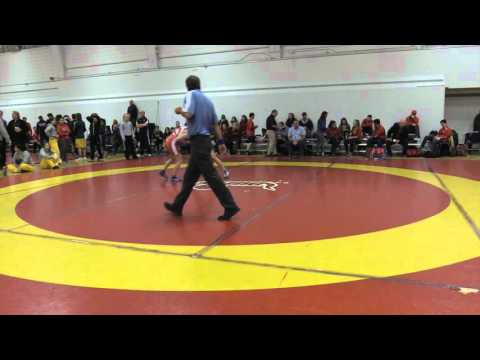 2015 Dino Invitational: 55 kg Vanessa Brown vs. Alyx Paulson