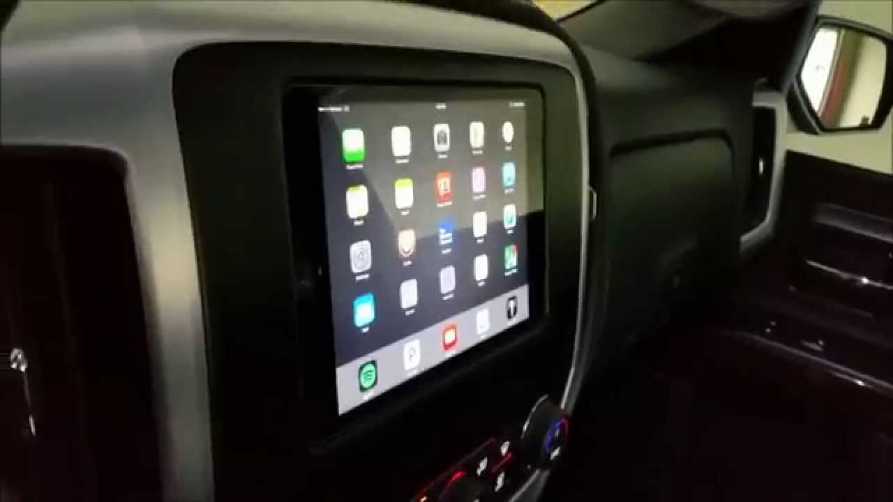 Ipad Mini 3 Installed In Dash Of 2014 Gmc Sierra Youtube