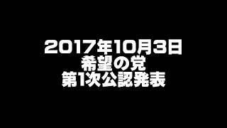 希望の党・若狭勝氏ら第1次公認/内定候補者一覧 吉羽美華 検索動画 28