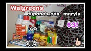 Mi Compra en Walgreens 7-17-18