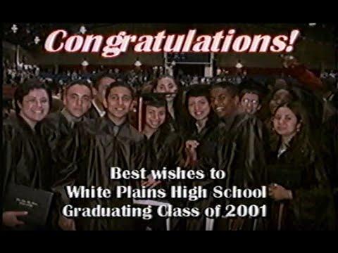 White Plains High School Class of 2001 graduation