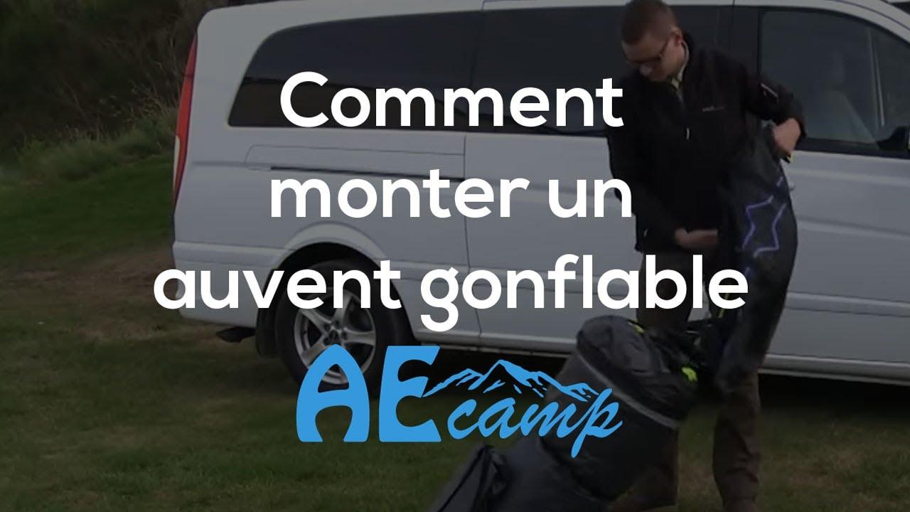 montage d un auvent camping car