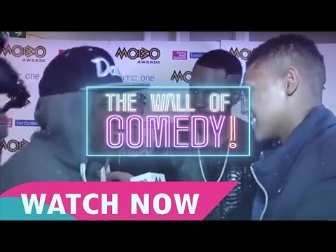 Mandem On The Wall - Jason Derulo Interview MOBO Awards Nominations