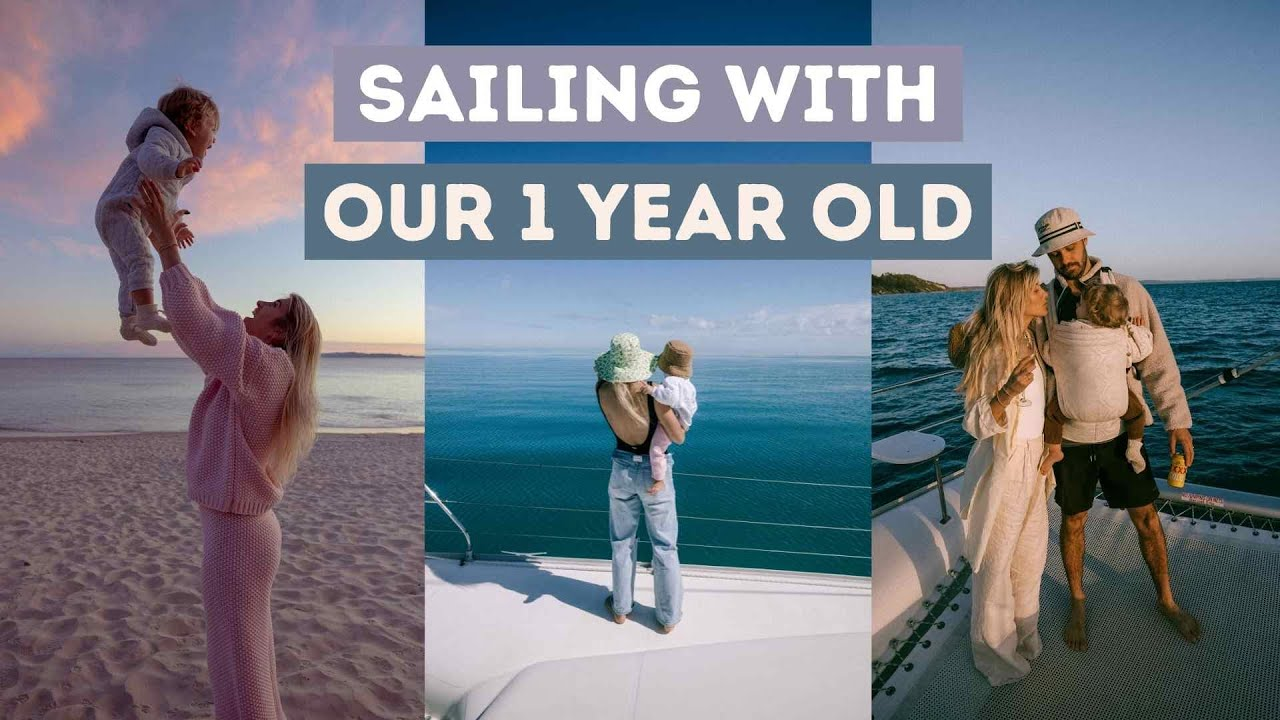 VLOG ~ SAILING ALONG FRASER COAST // travel with a baby