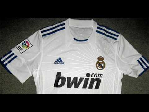 New Real Madrid Jersey 2010/2011