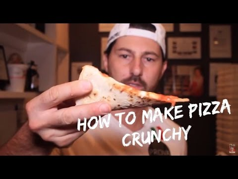HOW TO MAKE THE PIZZA CRUNCHY