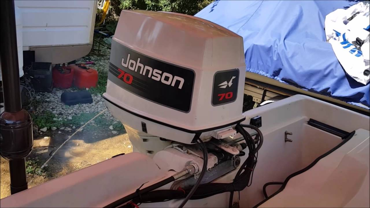 1993 Johnson 70 Hp Outboard Motor  2 Repaired