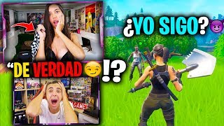 Mi CRUSH se QUITA 1 PRENDA por cada Kill en Fortnite...😱😏*Muy SALSEANTE*
