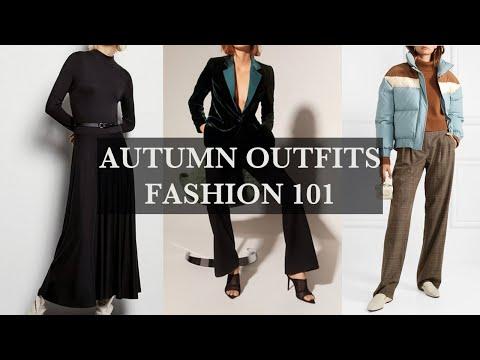 AUTUMN OUTFITS | FASHION 101 | November 2019