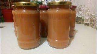 Рецепт яблочного пюре для детей на зиму