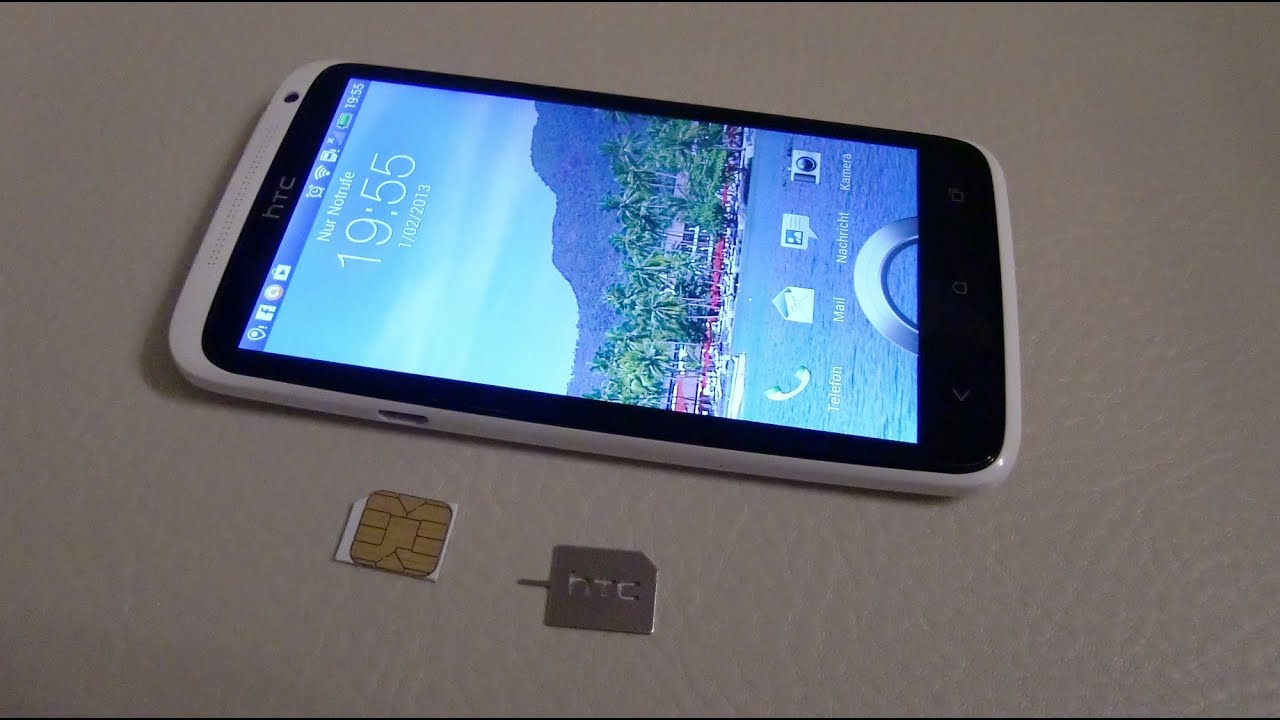 htc one sim karte HTC One X insert Micro Sim Card / Micro Sim Karte einsetzen   YouTube