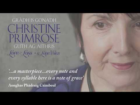 A pronunciation guide to the Gaelic song titles on Christine Primrose's new album