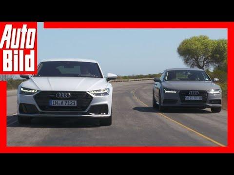 Audi A7 (2018) - Alt gegen Neu  - Details/Review/Test