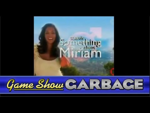 Game Show Garbage - There's Something About Miriam w/Jessica Brand (200TH INDUCTION!)