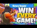 How To ALWAYS WIN SOLO GAMES in Fortnite - Tips and Tricks