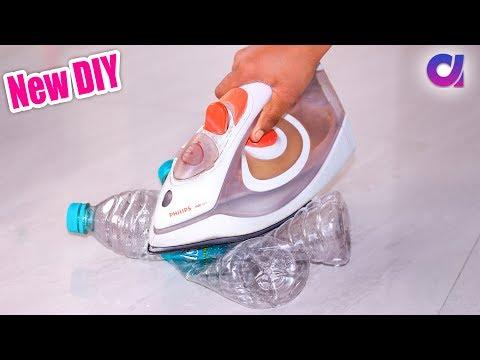New Plastic Bottles reuse ideas | Best out of waste | Artkala 350.