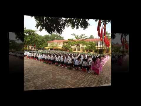 [Trường THPT Sáng Sơn] - Lễ khai giảng và đón chuẩn quốc gia 09-2012