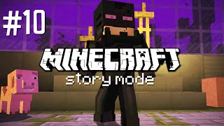 ENDERSUIT ACTIVATE! - MINECRAFT STORY MODE (EP.10)